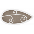 Simple Pleasures - Slate Brown Leaf #01