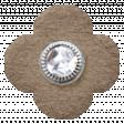 Simple Pleasures - Slate Brown Flower #02