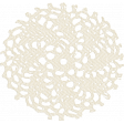 Simple Pleasures - White Crochet Piece
