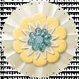Simple Pleasures - White Yellow Flower