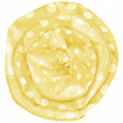 Simple Pleasures - Yellow Rosette