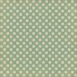Sweet Valentine - Teal Polka Dots Paper