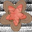 Sweet Valentine Elements  - Pink Brown Flower