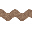 Sweet Valentine Elements  - Brown Ricrac Ribbon