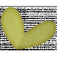 Sweet Valentine Elements  -Green Heart