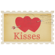 Sweet Valentine - Kisses Stamp