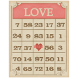 Sweet Valentine - Love Bingo Card
