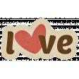 Sweet Valentine - Love Sticker