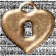 Sweet Valentine - Metal Heart Lock