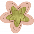 Sweet Valentine - Pink & Green Flower
