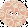 Sweet Valentine - Pink Swirly Button