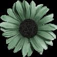 Sweet Valentine Elements  - Teal Flower