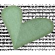 Sweet Valentine Elements  - Teal Heart