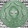 Sweet Valentine Elements  - Leafy Teal Button
