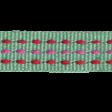 Sweet Valentine Elements  - Teal Straight Ribbon