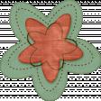 Sweet Valentine Elements Kit - Teal Red Flower