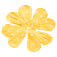 Oh Lucky Day - Yellow Polkadot Flower