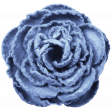Country Wedding - Big Blue Paper Rose