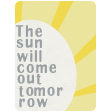 Rain, Rain - Journal Cards - The Sun Will Come Out