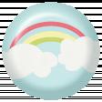 Rain, Rain - Clouds and Rainbow Flair