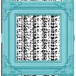 Rain, Rain - Dark Blue Ornate Frame