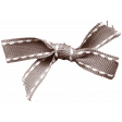 I Love You Mom - Brown Knotted Ribbon