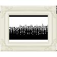 Rain, Rain - White Ornate Frame