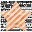 Oh Baby, Baby - Orange Striped Star