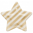 Oh Baby, Baby - Tan Striped Star