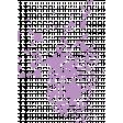 Forever Friends Mini Kit - Purple Paint Splatter