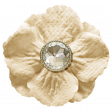 Oh Baby, Baby - Tan Flower With Diamond