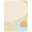 Oh Baby, Baby - Blue Elephant Journal Card