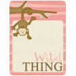 Oh Baby, Baby - Pink Wild Thing Journal Card
