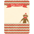 Oh Baby, Baby - Sock Monkey Journal Card