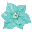 Christmas In July - Blue Flower