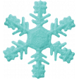 Christmas In July - CB - Blue Snowflake