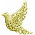 Christmas In July - CB - Green Bird Ornament