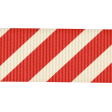 Christmas In July - CB - Red Striped Ribbon
