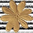 School Fun - Brown Big Flower