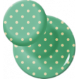 School Fun - Teal Polkadot Thumbtack