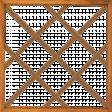 School Fun - Brown PinBoard Page Frame