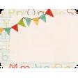 School Fun - Journal Card - Banner