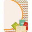 School Fun - Journal Card - Books