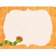 School Fun - Journal Card - Bookworm