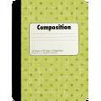 School Fun - Journal Cards - Composition Notebook
