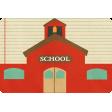 School Fun - Journal Cards - Schoolhouse