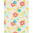 Summer Daydreams - Journal Card - Flower Pattern
