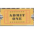 At The Fair - September 2014 Blog Train - Wordart - Admit One