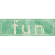 School Fun - Word Art Sticker - Fun