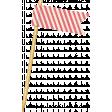 At The Fair - September 2014 Blog Train - Pink Striped Flag